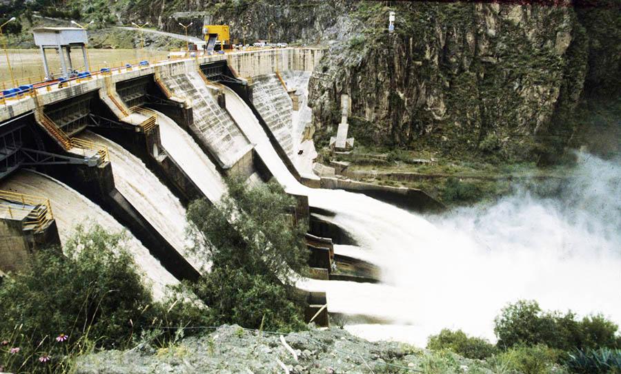 Hidroeléctrica del Mantaro.