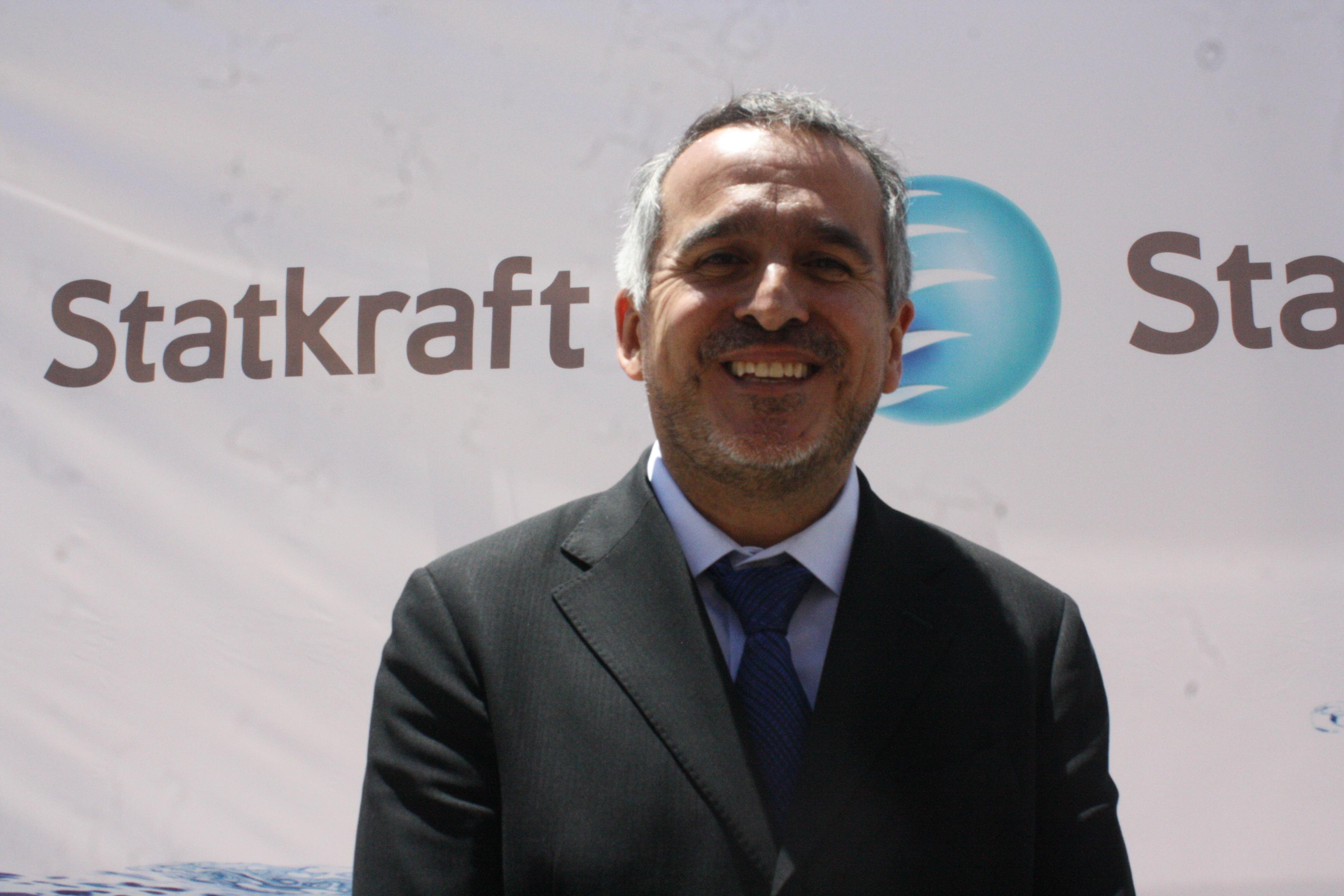 gerente general de Statkraft en el Perú, Juan Antonio Rozas.