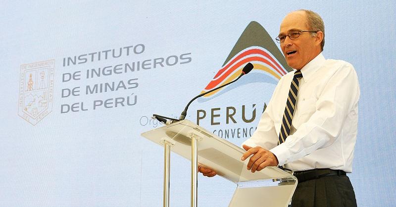 Roque Benavides, presidente de Perumin32