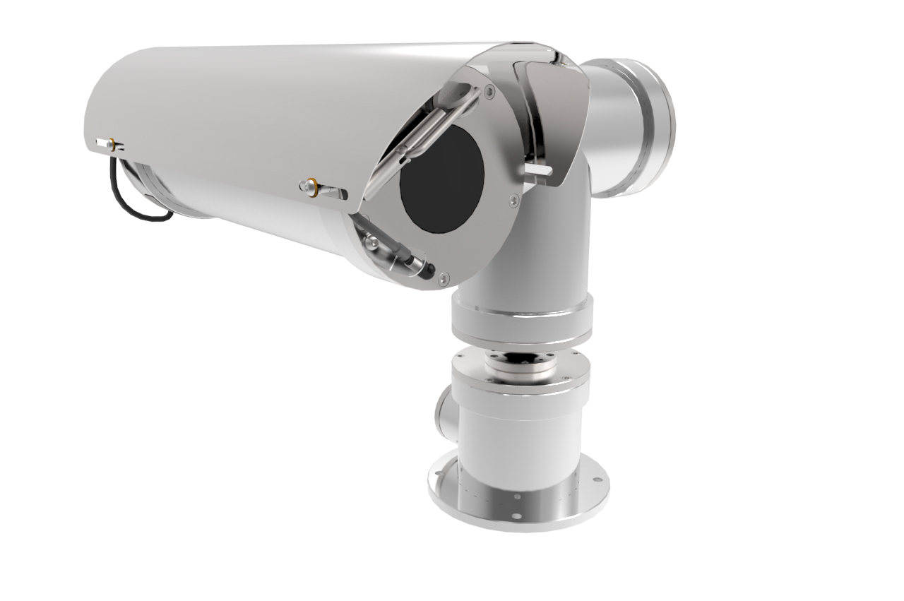 Axis lanza cámara certificada para áreas peligrosas o de riesgo