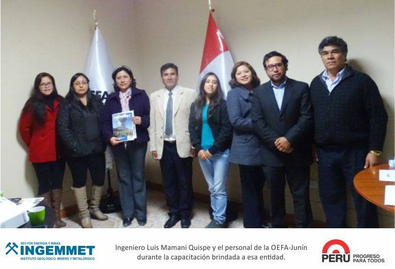 Capacitan en procedimiento ordinario minero a funcionarios de la OEFA en Junín