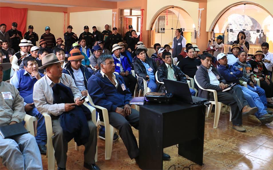 Municipios de Cotabambas solicitan reprogramación de talleres informativos del proyecto Las Bambas
