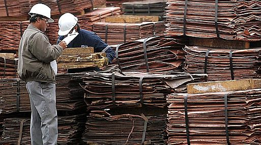 El cobre referencial en la LME perdía un 0.6% a 5,239 dólares por tonelada a las 1010 GMT- Foto:Gestión