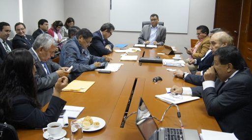 Ministro de Agricultura en la omisión Agraria del Congreso. (Foto: Cortesía)