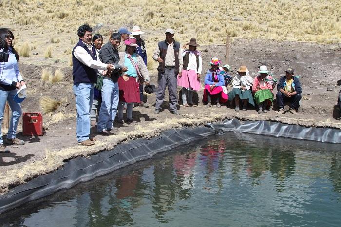 Antapaccay a través de Convenio Marco  entrega 7 reservorios valorizados en S.166 mil