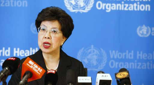 "World Health Organization (WHO) Director-General Margaret Chan addresses the media after a two-day meeting of its emergency committee on Ebola, in Geneva August 8, 2014. West Africa's raging epidemic of Ebola virus is an ""extraordinary event"" and now constitutes an international health risk, the WHO said on Friday.   REUTERS/Pierre Albouy (SWITZERLAND - Tags: HEALTH POLITICS)"