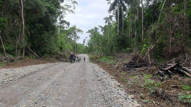 La obra es ejecutada por el Gobierno Regional de Madre de Dios, encabezado por el investigado Luis Otzuka Salázar, ex dirigente minero que lideró protestas contra el proceso de formalización minera. (Foto: Difusión)