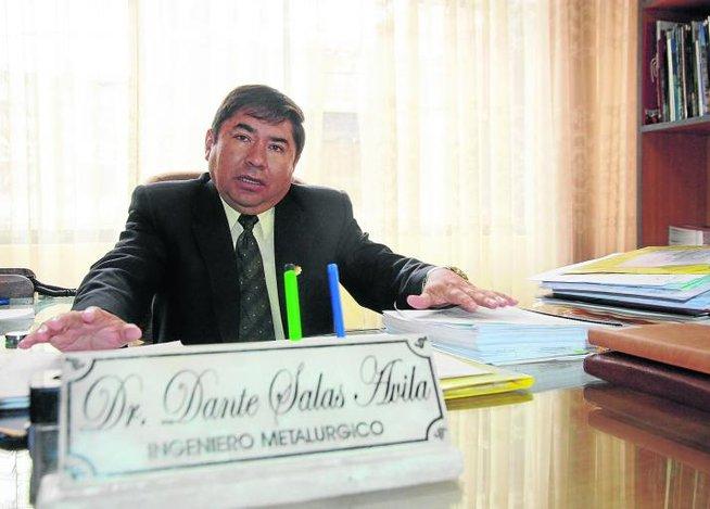 Dante Salas Ávila (Foto: Correo)
