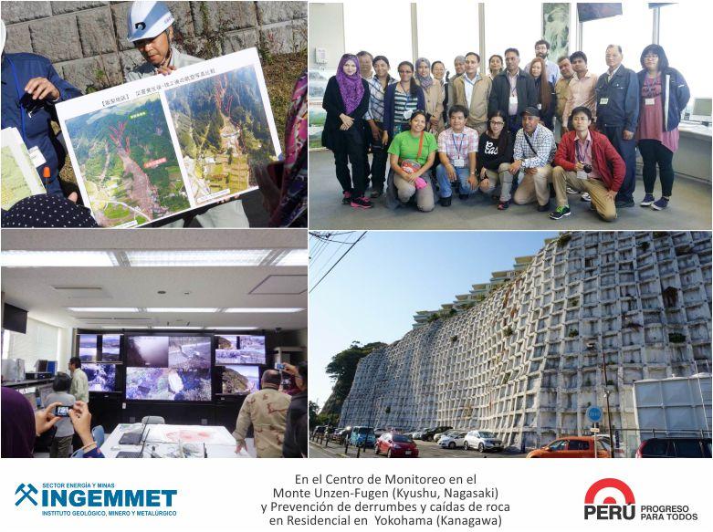 INGEMMET Especialista participó en curso sobre gestión de desastres en Japón
