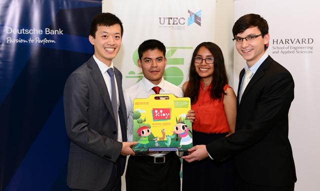 Alumnos de UTEC y Harvard presentan prototipo para impulsar el aprendizaje en ciencias y tecnología en niños de zonas rurales