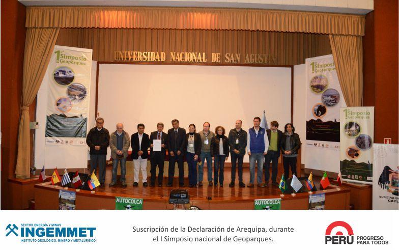 INGEMMET En simposio acordaron fortalecer red de geoparques de América Latina y el Caribe