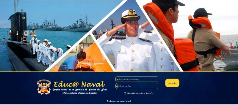 """Marina de Guerra del Perú y Telefónica implementarán plataforma virtual de formación """"Educa Naval"""""""