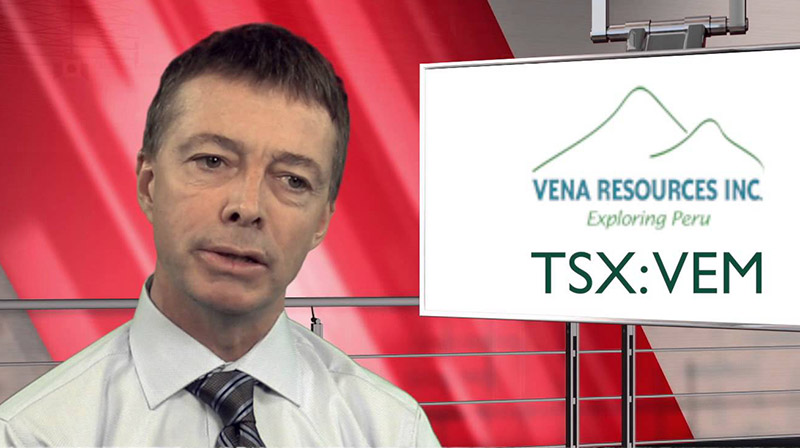 Martin Walter, CEO de Vena Resources