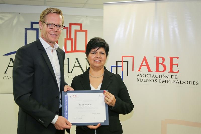 Volvo Perú obtiene certificación ABE