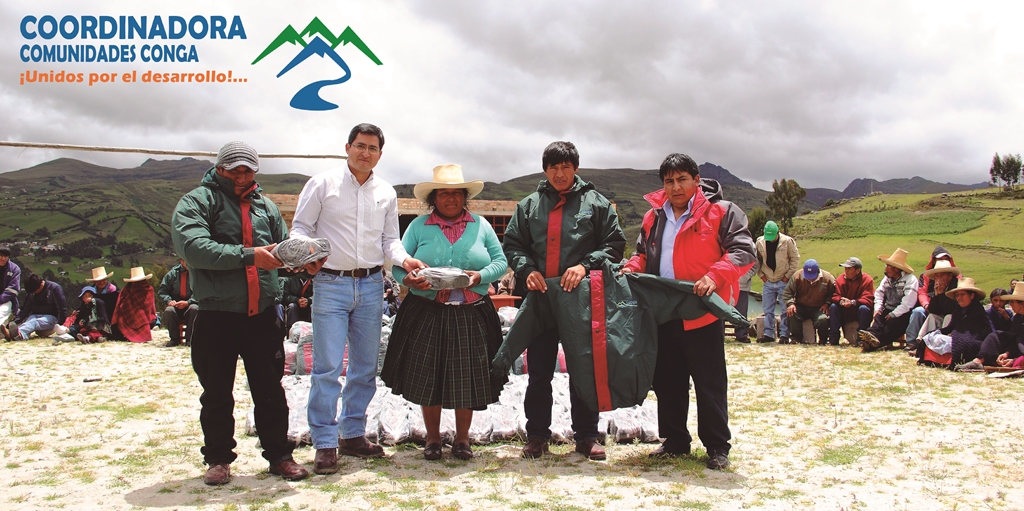 Foto: Coordindaora Comunidades Conga