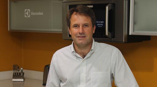 Francisco Álvarez Calderón, gerente general de Electrolux. (Foto: Gestión).