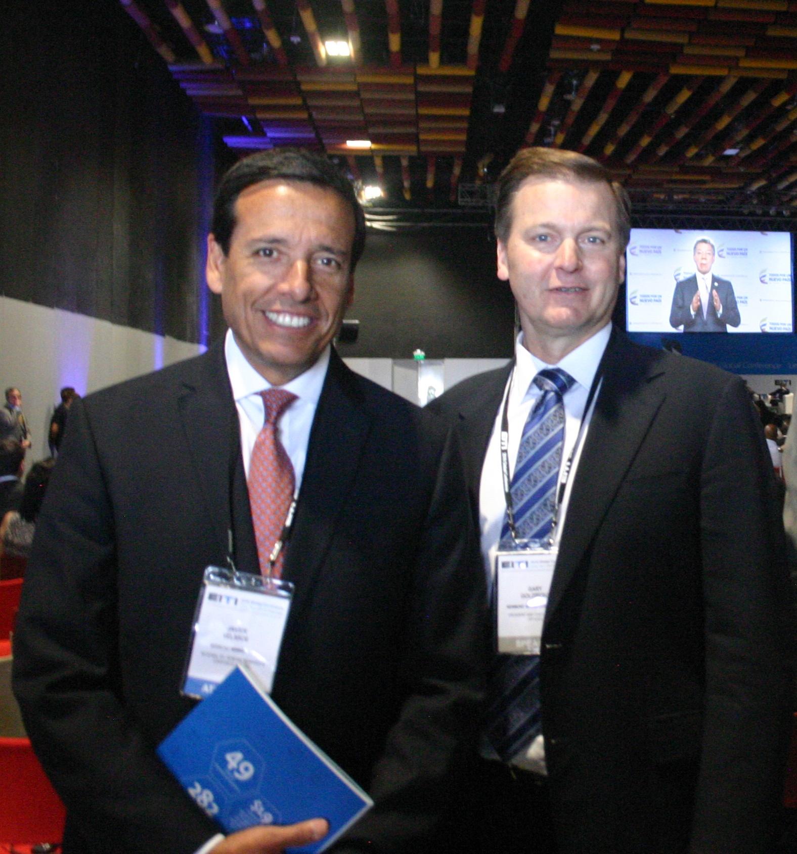 Javier Velarde y Gary Goldberg (Foto: ProActivo)