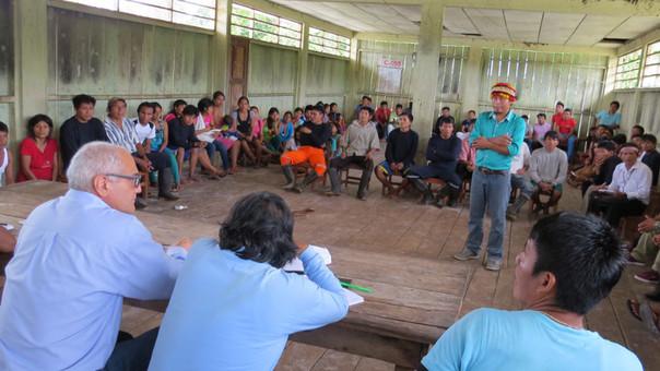 Tras firmar un acuerdo con el presidente del directorio de Petroperú se efectuó la liberación de los mismos. | Foto: Petroperú