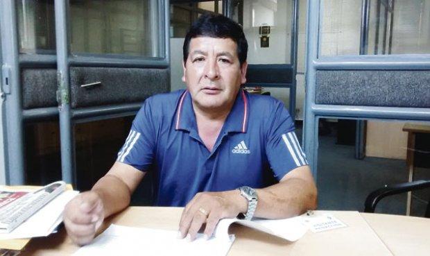 Redublino Bustamante, alcalde de Huambos. (Foto: La República).