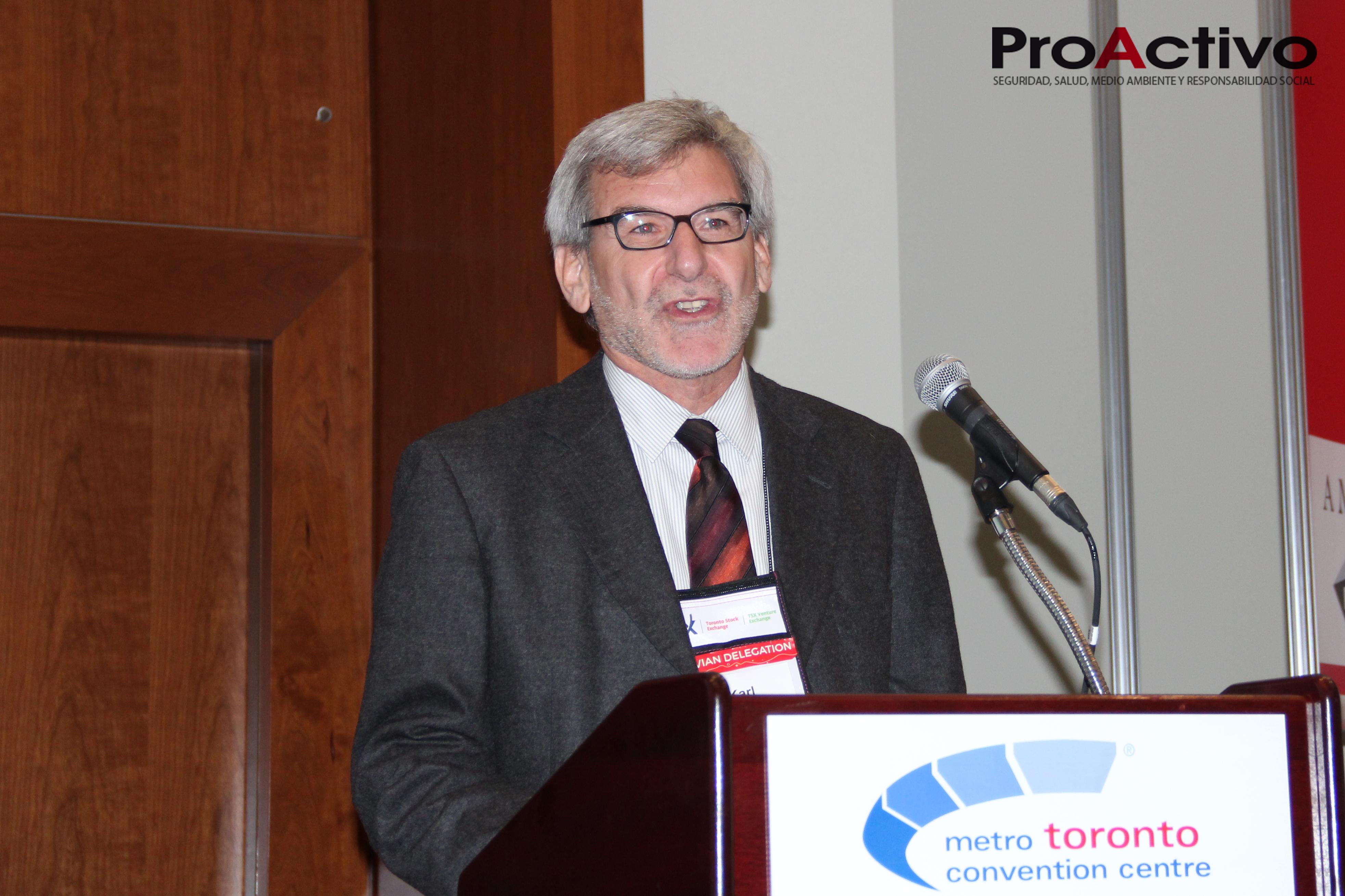Karl Maslo, gerente general de EXSA. (Foto: ProActivo).