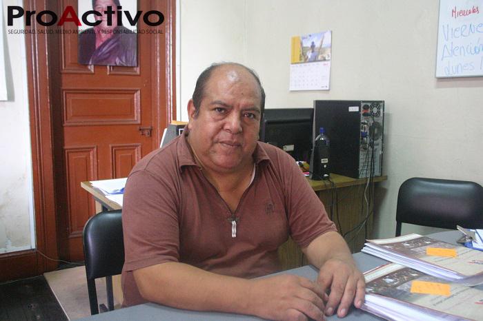 Luis Castillo Carlos, delegado titular de Trabajadores de Doe Run ante Indecopi (Foto: Kenneth Vargas/ProActivo).