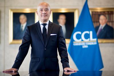 Mario Mongilardi Fuchs, presidente de la Cámara de Comercio de Lima (CCL) (Foto: CCL).