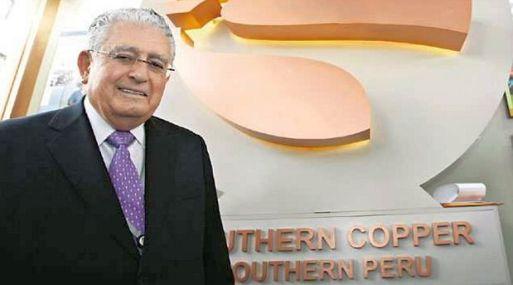 Oscar González Rocha, jefe de Southern Copper. (Foto: Gestión).