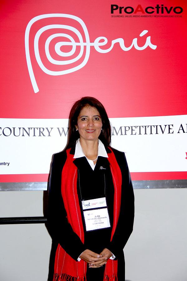 Julia Torreblanca, vicepresidenta de Cerro Verde (Foto: ProActivo).