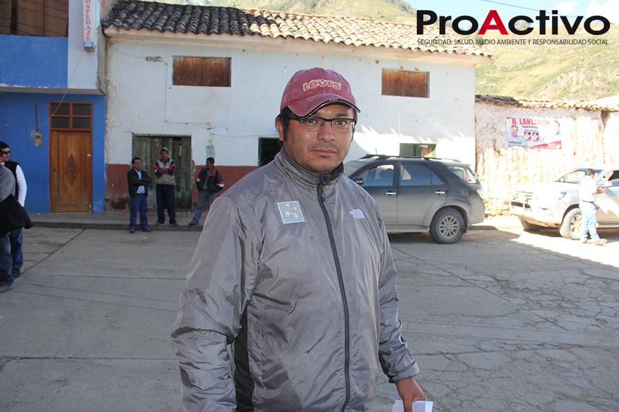 Allen Torre, asesor del Frente de Defensa- Foto: ProActivo.