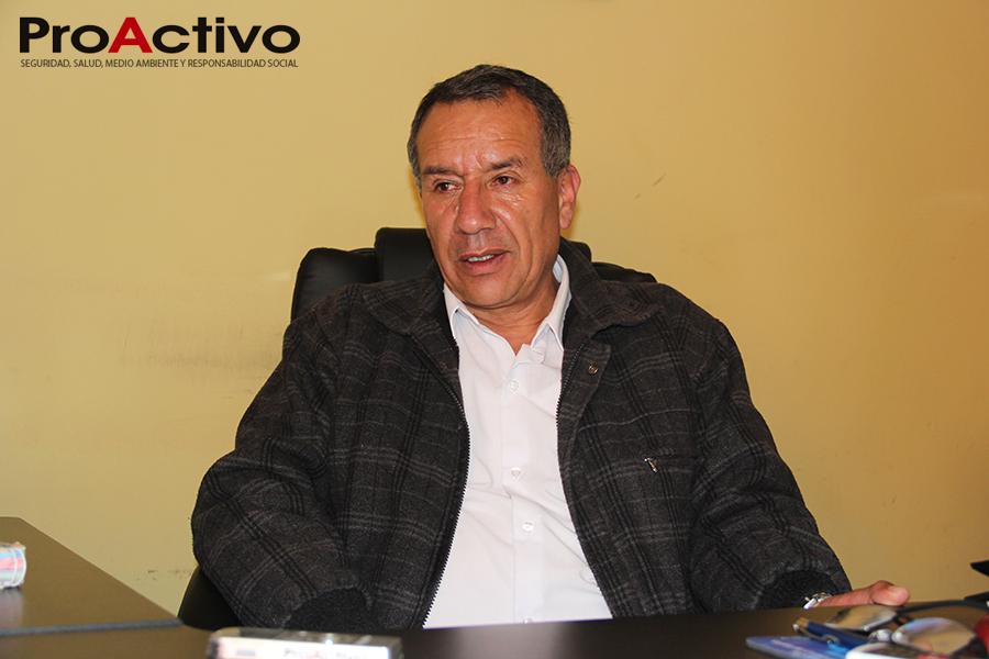 Alcalde Leoncio Mendoza- Foto: ProActivo
