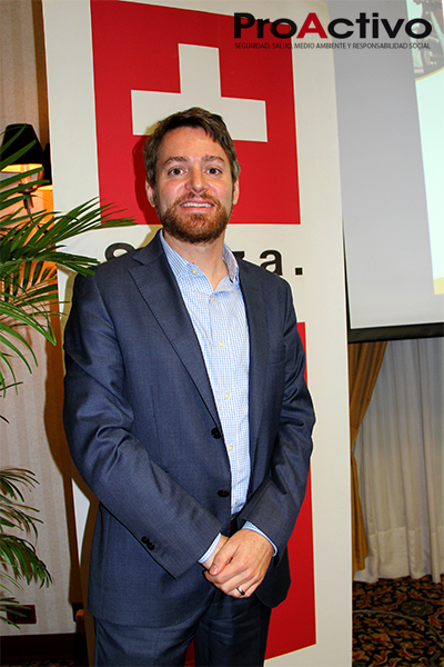Martin Peter, jefe de la Cooperación Suiza - SECO (Foto: ProActivo).