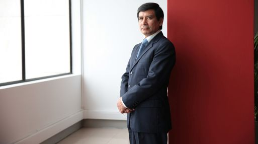 Carlos Benitez, Pdte. Sunafil. Foto USI. Gestión