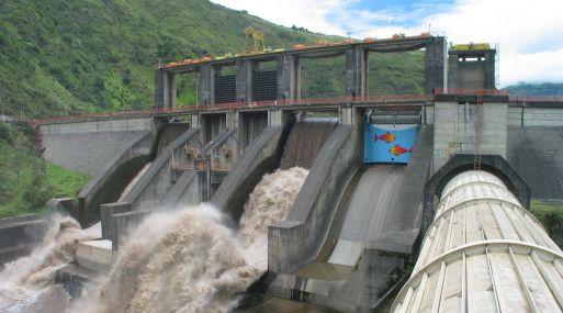 hidroeléctrica río