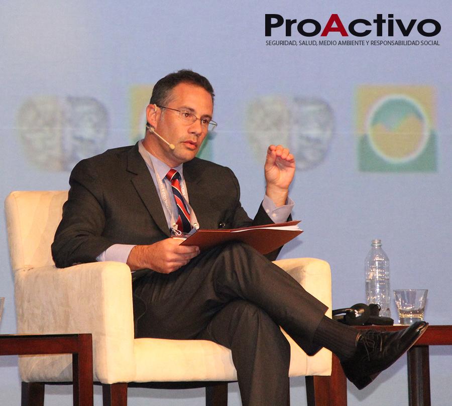 David Glait , Gerente de Relaciones con Inversionistas de Compañía Minera Volcan. (Foto: ProActivo).