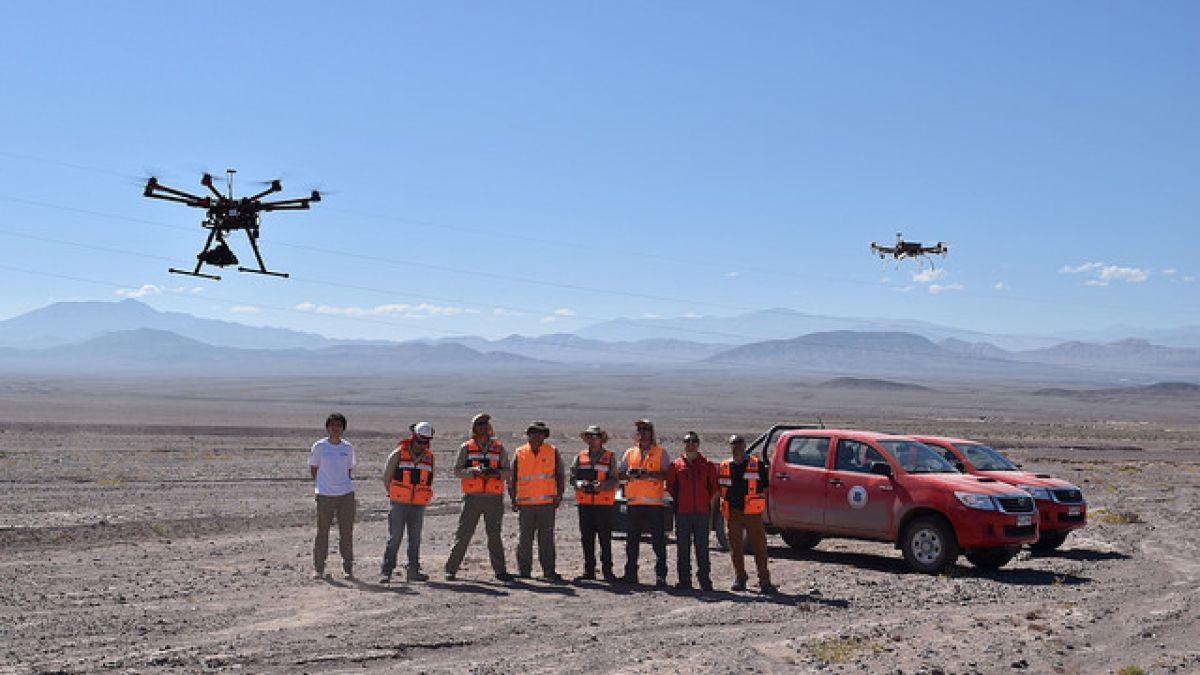 chile drones