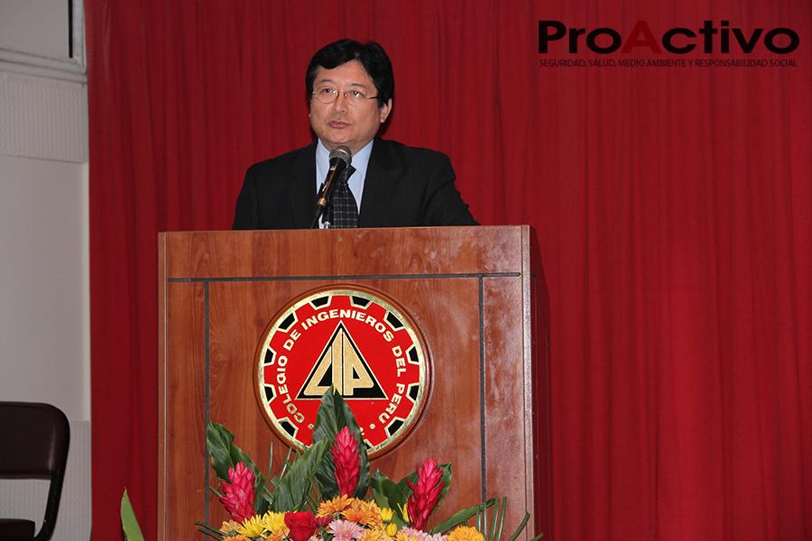 Guillermo Shinno, viceministro de Minas (Foto: ProActivo).