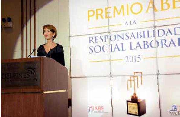 Delia Mariátegui, presidenta de ABE. (Foto: ABE).