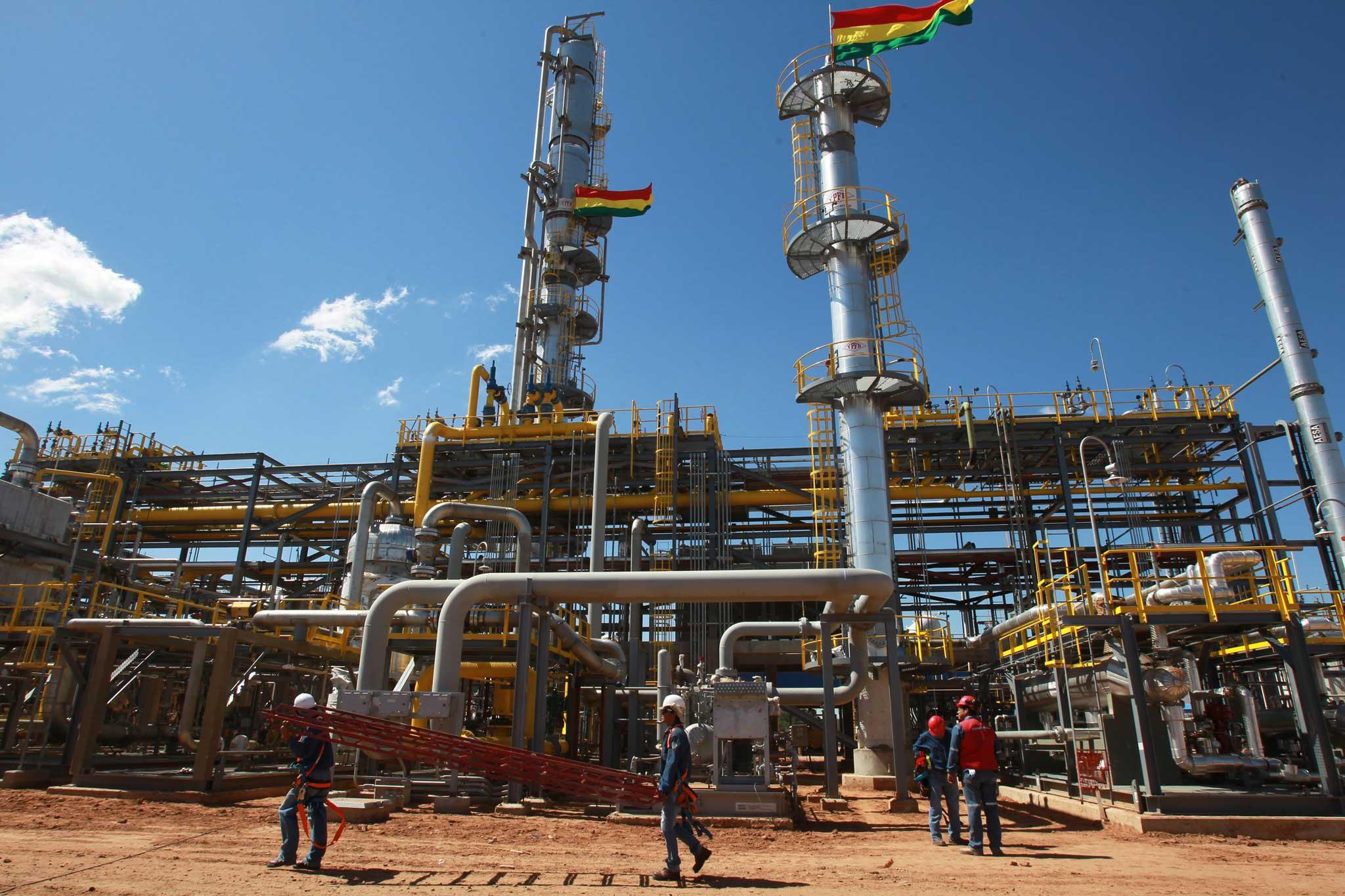 Gas Natural En Bolivia