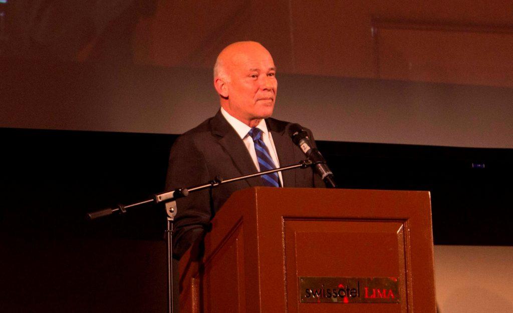 Ministro de Comercio Exterior y Turismo, Eduardo Ferreyros. (Foto: Cámara de Comercio Canadá Perú)