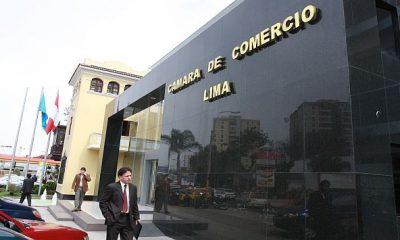 FACHADA DE LA CAMARA DE COMERCIO DE LIMA, CCL. HORIZONTAL.