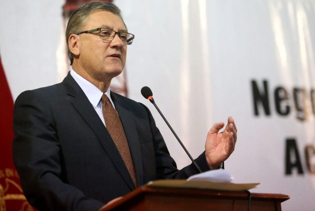 Alfonso Grados, Ministro de Trabajo y Promoción del Empleo / Foto: Andina