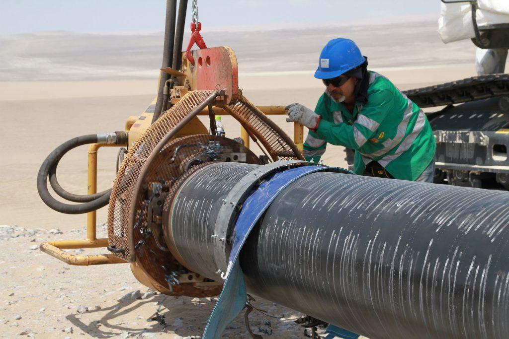 Gasoducto / Foto: Andina