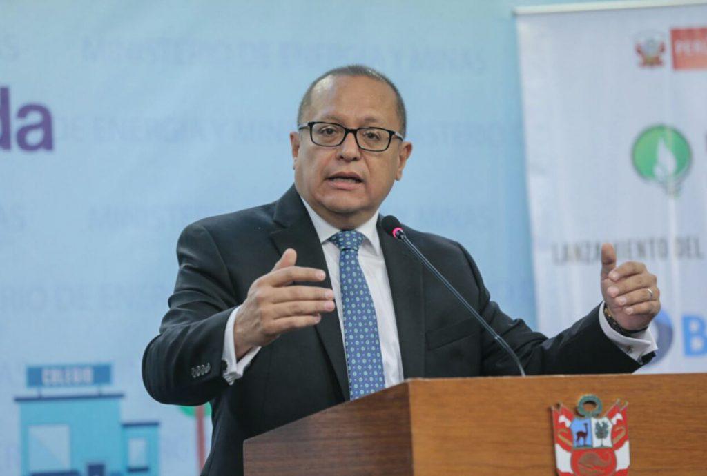 Gonzalo Tamayo, Ministro de Energía y Minas / Foto: Andina