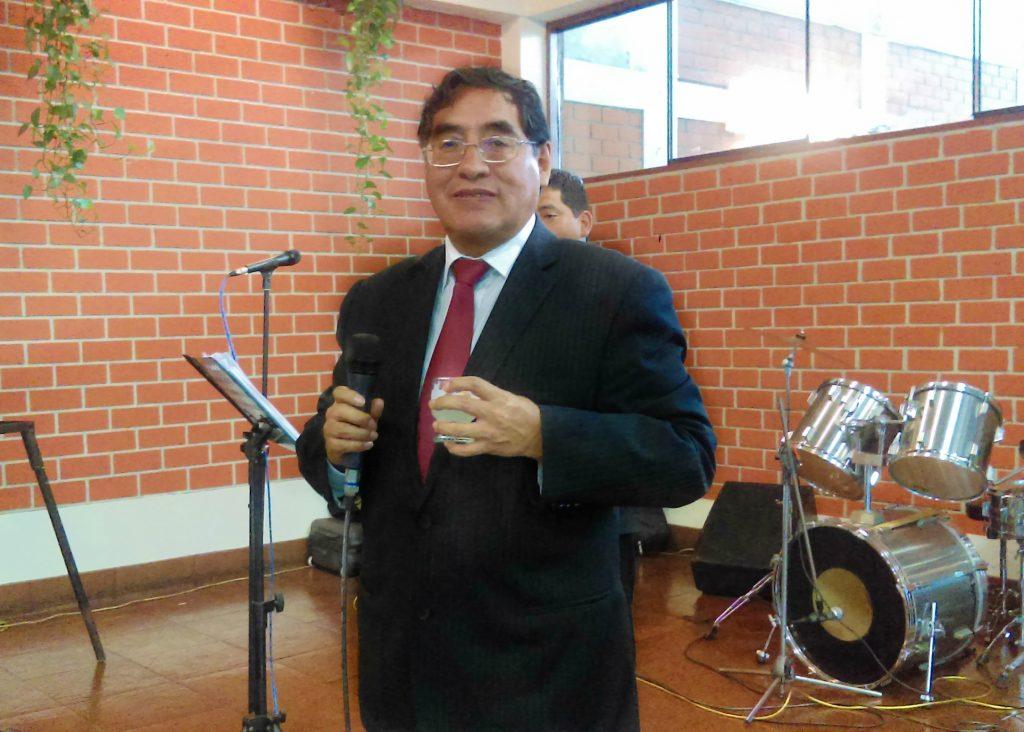 Manuel Ortega Rubín, gerente general de HLC S.A.C.