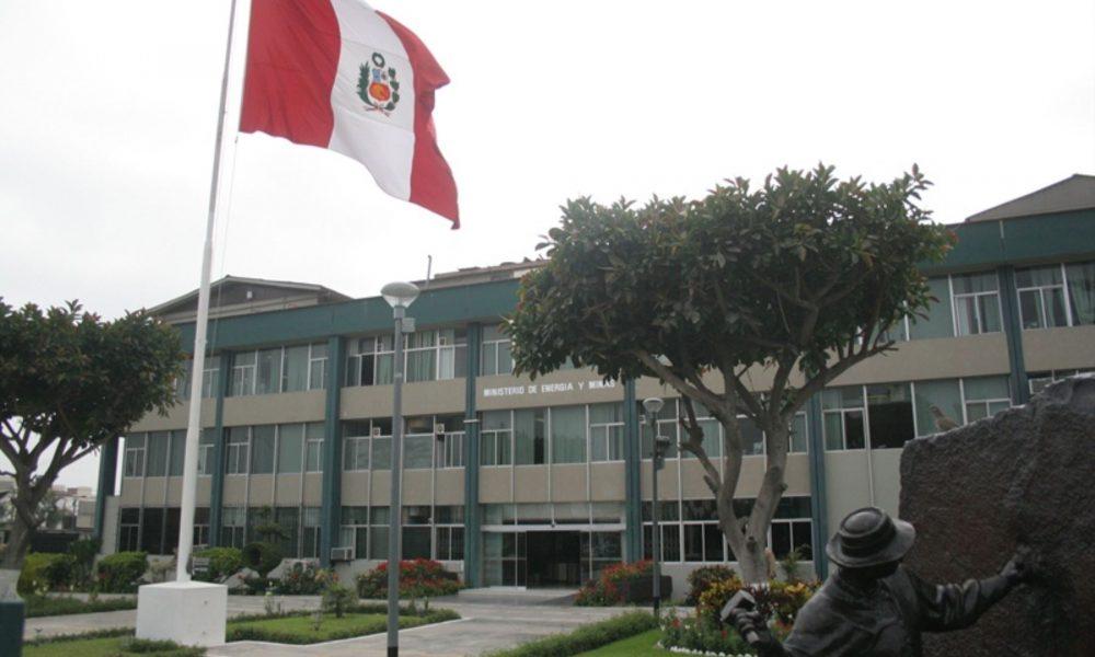 Ministerio de Energía y Minas / Foto: Andina