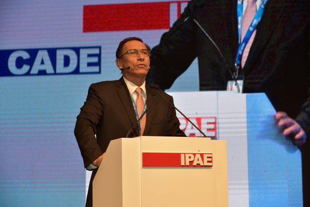Martín Vizacarra, Ministro de Transporte y Comunicaciones / Foto: CADE