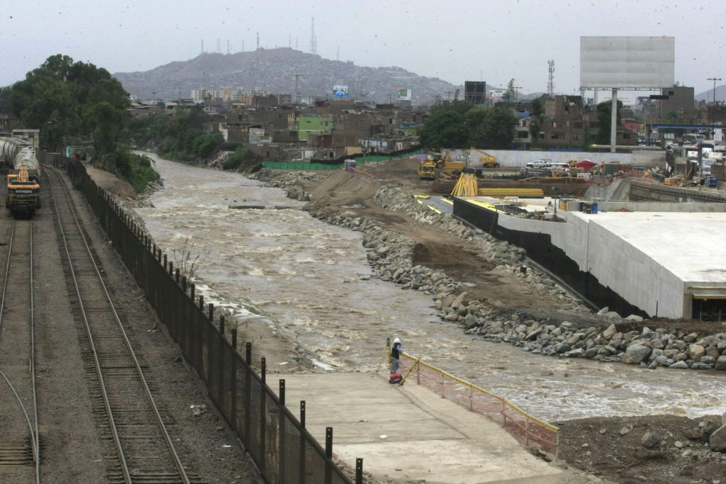 Río Rimac / Foto: Andina