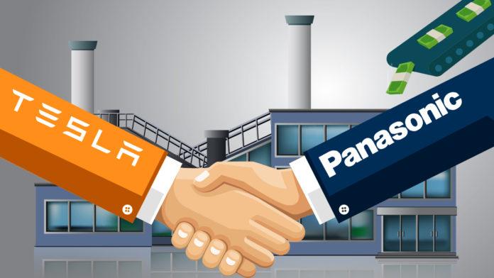 Tesla y Panasonic / Foto: Internet