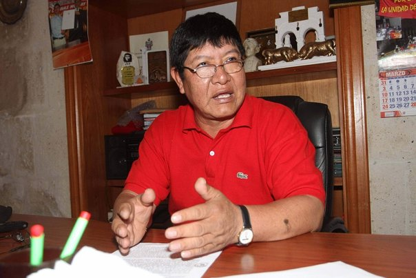Gerónimo López, secretario general de la CGTP / Foto: Correo