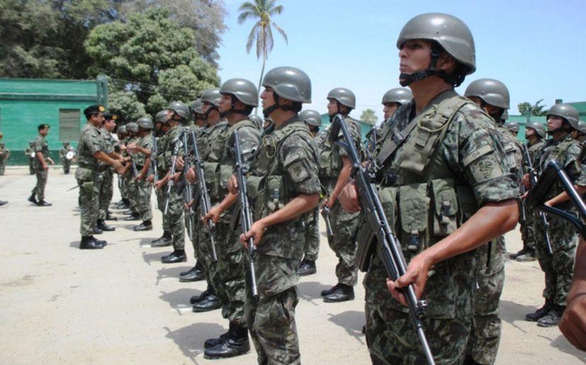Fuerzas Armadas / Foto: Andina
